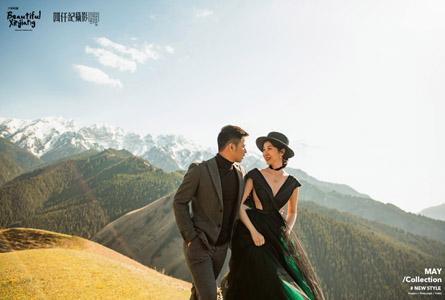 伊犁果子沟景区婚纱照必威体育app手机版分享