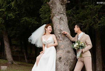 南山牧场婚纱照